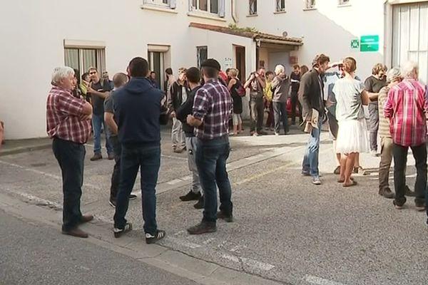 Aude : manifestation à Limoux contre la suspension de l'agrément sanitaire de l'abattoir de Quillan - 16 septembre 2019.