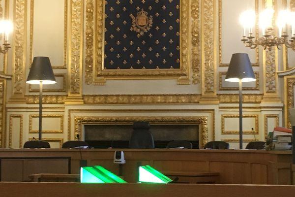 Salle d'audience de la Cour d'Assises à Rennes