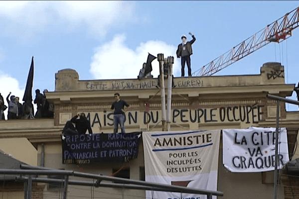 La salle de la cité à Rennes investie une seconde fois par les opposants à la loi travail