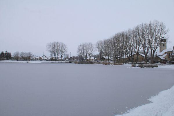 La Rivière, près du Lac de Bouverans.