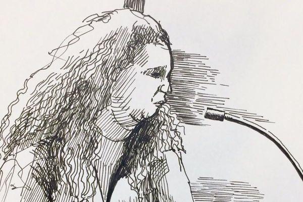 Anne Diana Clain devant le tribunal correctionnel de Paris le 19 novembre 2019