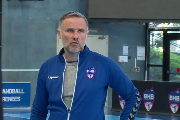L'entraîneur du BHB, Daniel Deherme