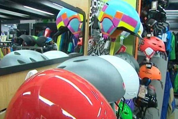 Des casques pour les sports de glisse