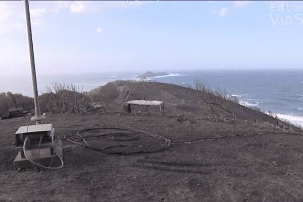 Trente hectares ont été ravagés sur le site classé de La Parata.