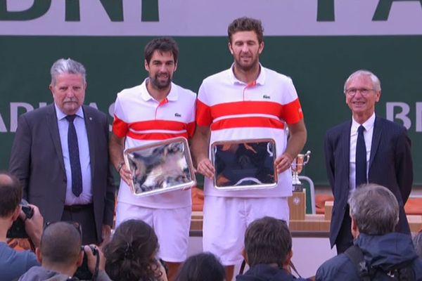 Jérémy Chardy et Fabrice Martin ont fait tout même un peau parcours à Roland Garros même s'ils repartent avec la déception d'une deuxième place...
