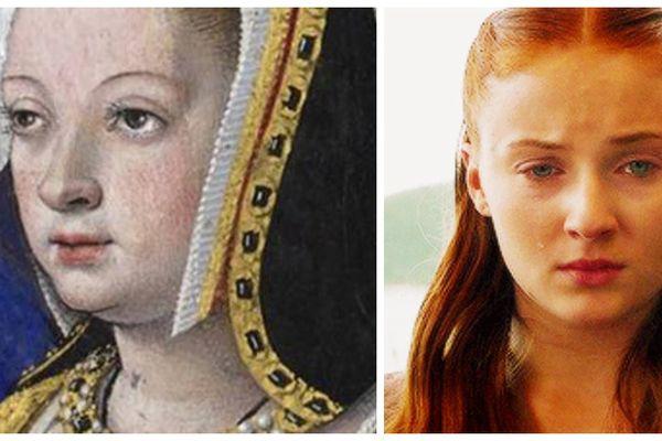 Anne de Bretagne version Sansa Stark