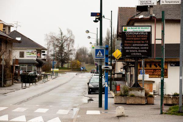La Balme-de-Sillingy, en Haute-Savoie, en mars 2020.
