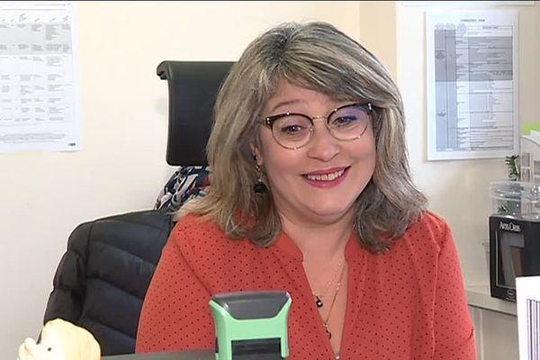 Nathalie Fouetillou, agent de la Mairie de Limoges
