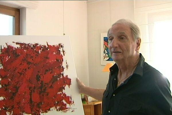 Robert Orioli s'était aussi mis à la peinture et à l'écriture de ses mémoires.