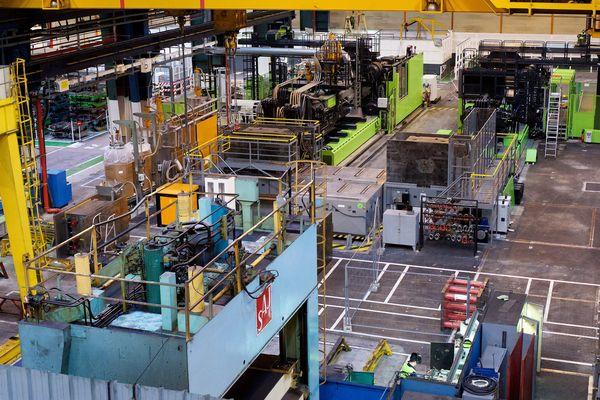 L'usine Renault, à Douai.