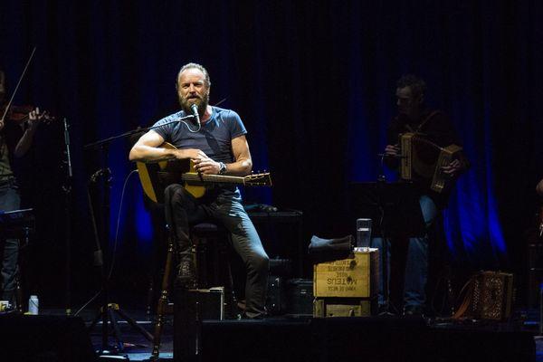 """Sting en concert avec son dernier album """"The Last Ship"""""""