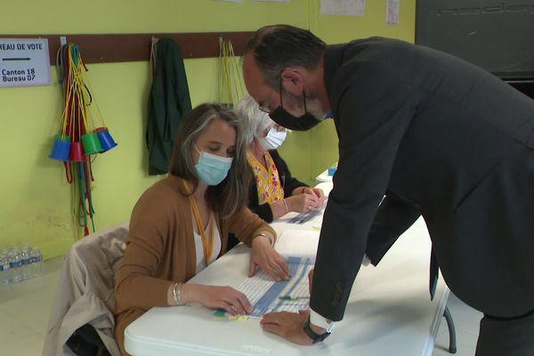 Edouard Philippe a voté tôt ce dimanche 27 juin au Havre