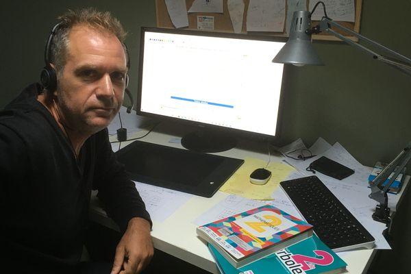 Nicolas Herla a créé une chaîne Youtube pour expliquer les mathématiques.