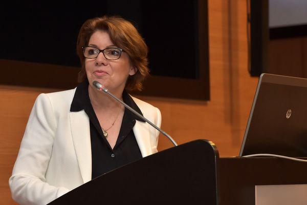 Agnès Le Brun, maire de Morlaix
