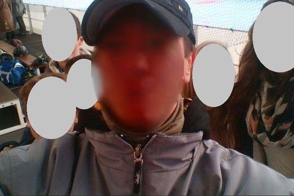 Selfie réalisé par l'animateur du club de roller du Loroux-Bottereau, soupçonné de pédophilie