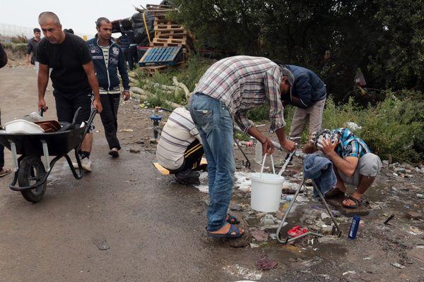 Les migrants sont entre 3000 et 4000 actuellement à Calais