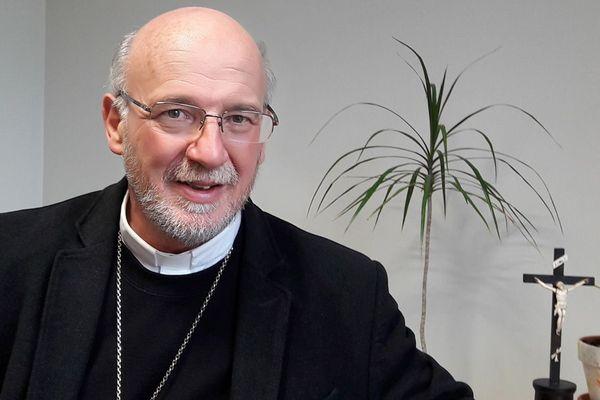 Monseigneur Jacolin, l'évêque de Luçon