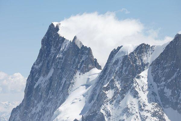 Une rafale de vent à plus de 180 km/h a été enregistrée au-dessus de Chamonix. Photo d'archives.