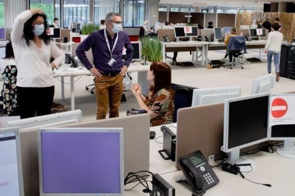 L'IMA à Niort a enregistré 33.500 appels au premier jour du déconfinement, le 11 mai 2020.