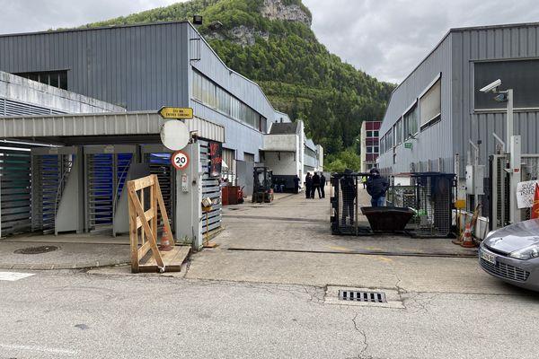 Les salariés de MBF Aluminium occupent depuis ce vendredi 21 mai leur entreprise