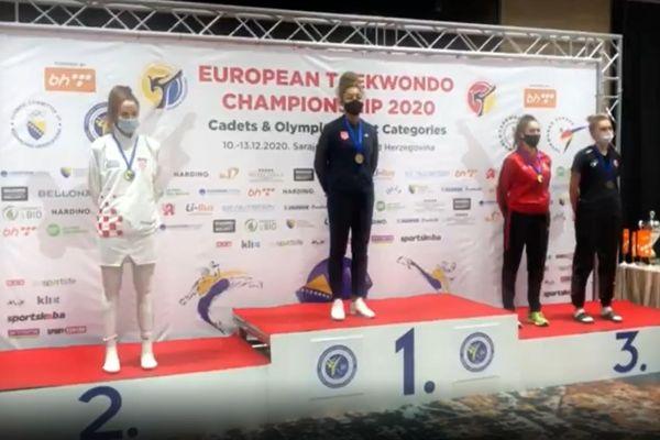 Magda Wiet-Hénin a été sacrée championne d'Europe en décembre 2020