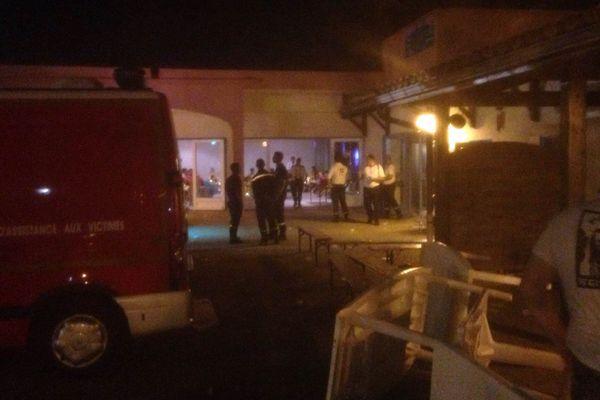 le SDIS de L'Hérault et les gendarmes sont intervenus avant 2h du matin au camping de Vias
