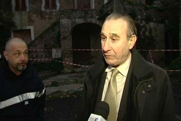 """""""J'en ai pleuré"""" déclare Ange Pierre Vivoni, maire de Sisco"""