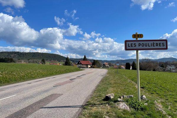 C'est sur la communes des Poulières, près de Bruyères dans les Vosges que Mia a été enlevée le 13 avril 2021.