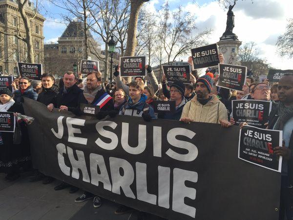 Partis ce matin de Saint-Omer, les Audomarois défilent à Paris.