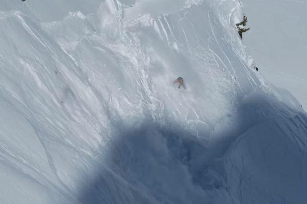 Victor de Le Rue emporté dans l'avalanche