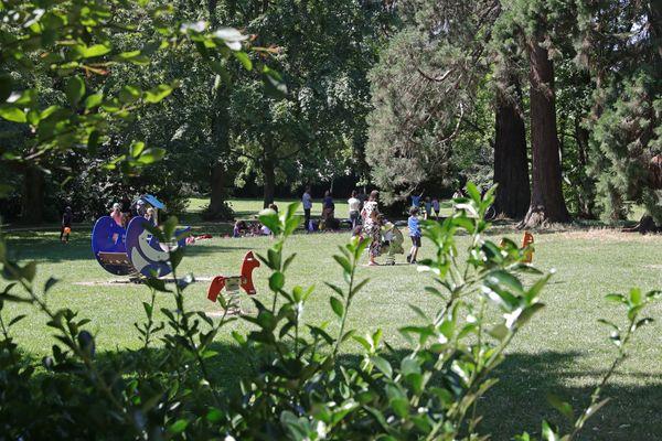 A Rennes, le parc Hamelin Oberthür est un jardin botanique public aménagé