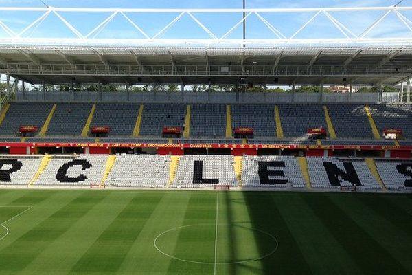 L'intérieur du stade Bollaert-Delelis a été dévoilé à la presse ce jeudi.