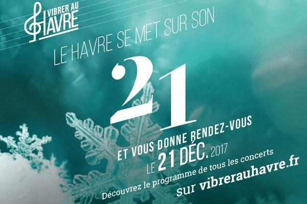 La ville du Havre fête l'arrivée de l'hiver en musique