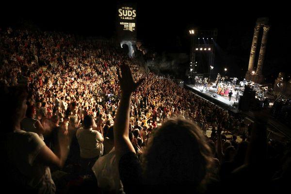 La scène des Suds à Arles en 2021