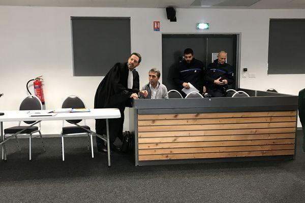 Christophe Blind est jugé devant la cour d'assises du Territoire de Belfort pour l'assassinat de Stéphane Dieterich en 1994