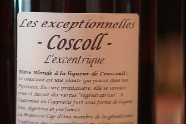 La bière blonde à la liqueur de Coscoll fabriqué à Argeles-sur-Mer dans la brasserie Cap d'Ona reçoit une médaille au salon de l'agriculture - 6 mars 2017