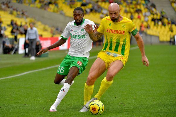 Le défenseur Nicolas Pallois lors du mach contre l'AS Saint-Etienne le 20 septembre 2020