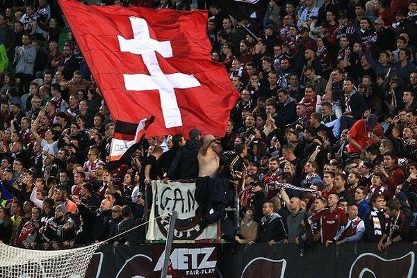 Les tifosi à Metz