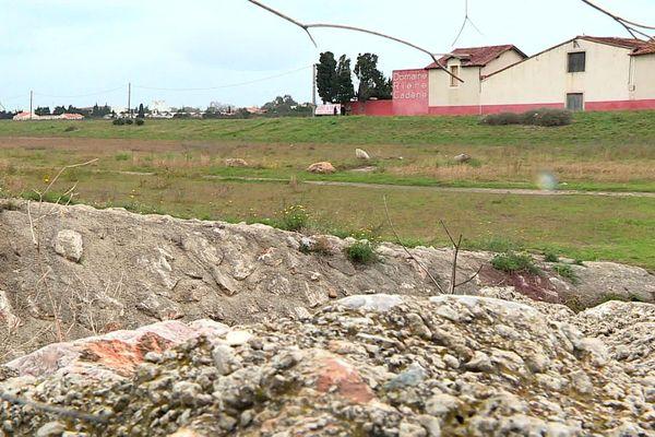 Les terrains jouxtant le mas viticole servent aujourd'hui de bassins d'orages, pour recueillir le surplus d'eau en cas d'intempéries.