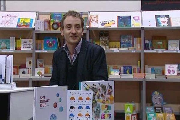 Laurent Blin - Directeur de la Fête du livre de jeunesse - 29/01/14