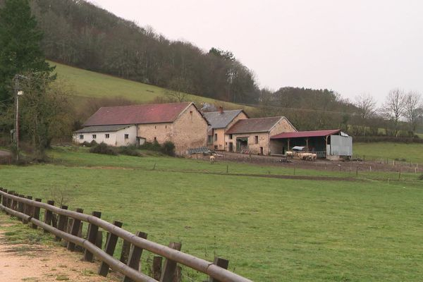 Paysage du Morvan : la Grande-Verrière en Saône-et-Loire