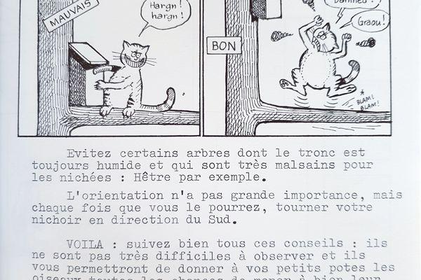 Textes épurés et dessins basiques, le premier numéro de la Hulotte