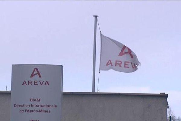 Areva à Bessines-sur-Gartempe