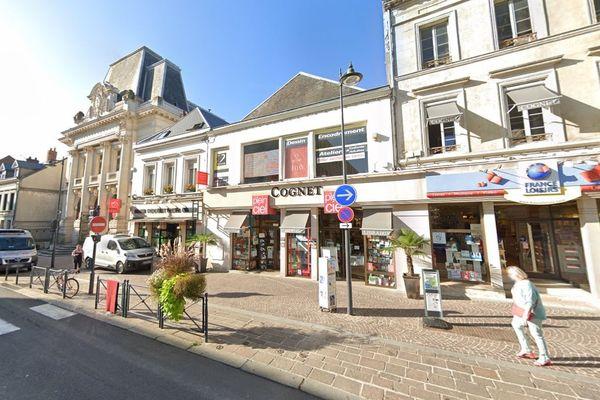 L'enseigne Cognet, en plein centre-ville de Saint-Quentin, passe sous franchise.