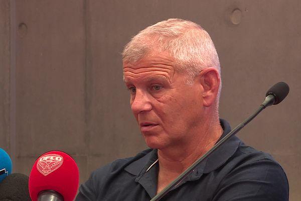 Patrice Garande a été nommé entraîneur du DFCO jusqu'à la fin de la saison.