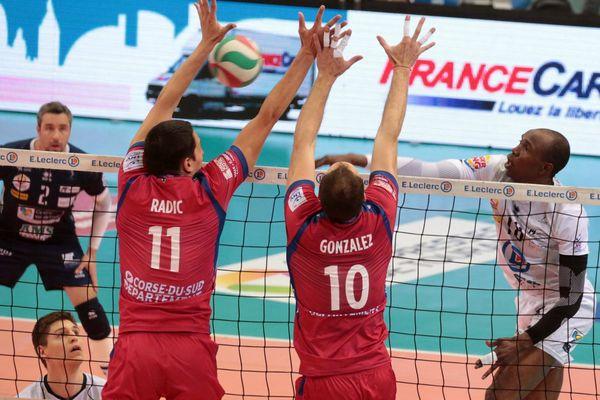 Tours a remporté son match face à Ajaccio hier, en demi-finale du championnat de France de volley-ball.