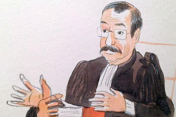 Le président Leroux, président de la Cour d'appel de Montpellier - 2016