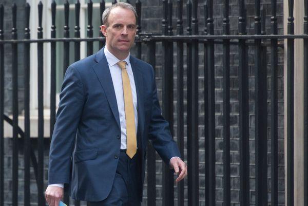 Dominic Raab dirige le gouvernement en l'absence de Boris Johnson.