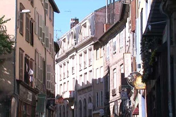 Logements anciens à Limoges (photo d'illustration)