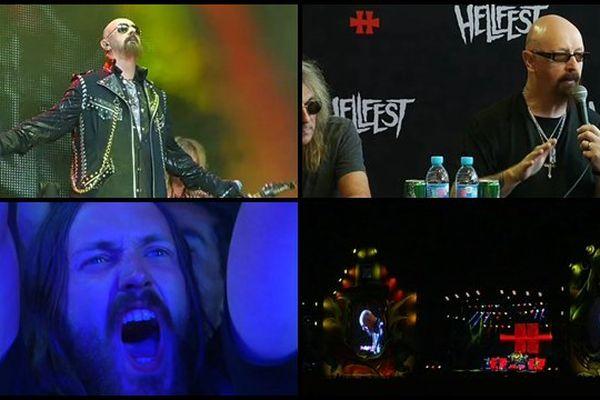 Les Judas Priest  ovationnés au Hellfest 2015